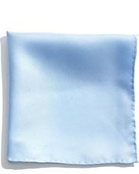 Голубой нагрудный платок