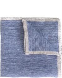 Мужской голубой нагрудный платок от Eleventy