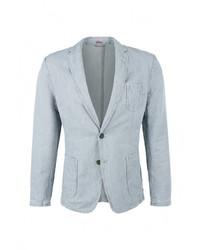 Мужской голубой пиджак от s.Oliver