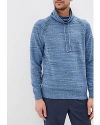Мужской голубой свитер с хомутом от O'stin