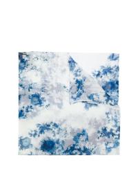 Женский голубой шарф с принтом тай-дай от Avant Toi