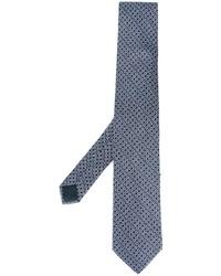 Мужской голубой шелковый галстук от Lanvin
