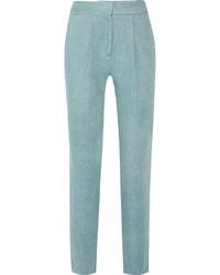 Женские голубые брюки-галифе от ADAM by Adam Lippes
