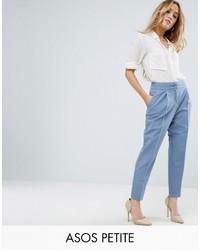 Женские голубые брюки-галифе от Asos