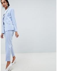 Женские голубые брюки-галифе от B.young