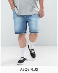 Мужские голубые джинсовые шорты от Asos