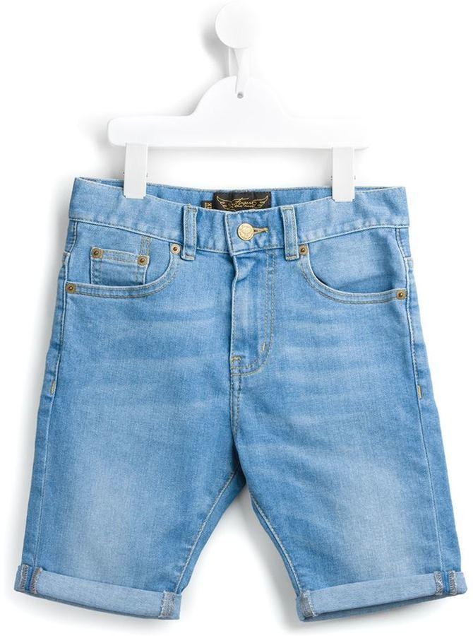 Детские голубые джинсовые шорты для мальчиков от Finger In The Nose