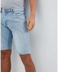 Мужские голубые джинсовые шорты от Jack & Jones