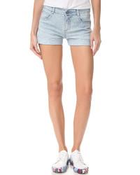 Женские голубые джинсовые шорты от Stella McCartney