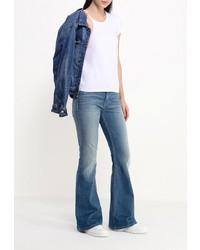 f71758e7a57 ... Голубые джинсы-клеш от Calvin Klein Jeans ...