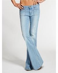 женские джинсы клеш купить