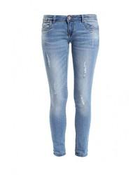 Женские голубые джинсы скинни от Alcott