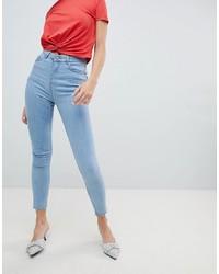 Голубые джинсы скинни от Chorus