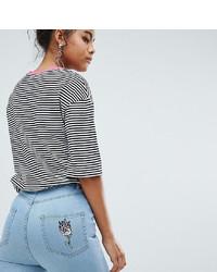Голубые джинсы скинни от Chorus Tall