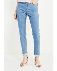 Голубые джинсы скинни от Cocos