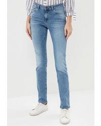 Голубые джинсы скинни от Colin's