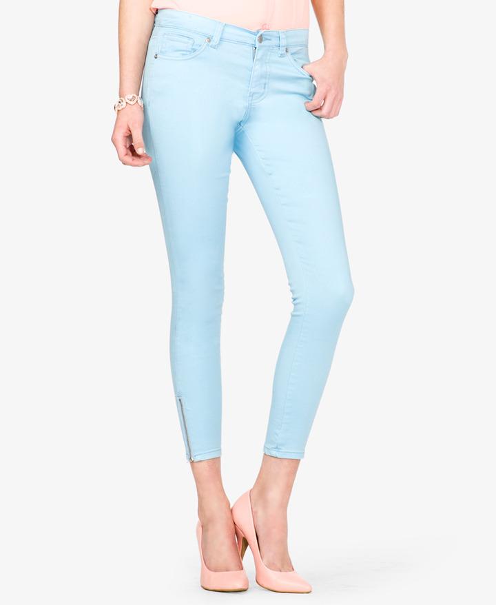 Голубые джинсы купить