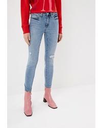 Голубые джинсы скинни от Gap