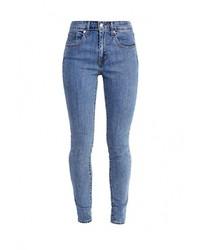 Женские голубые джинсы скинни от Levi's