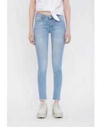 Голубые джинсы скинни от Lime