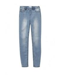 Голубые джинсы скинни от LOST INK