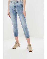 Голубые джинсы скинни от Marissimo