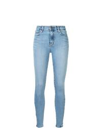 Голубые джинсы скинни от Nobody Denim