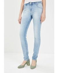 Голубые джинсы скинни от Whitney