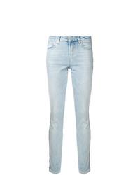 Голубые джинсы скинни от Zoe Karssen