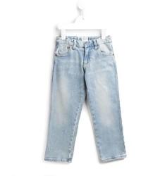 Детские голубые джинсы для мальчику от Armani Junior