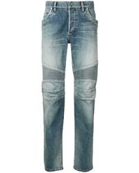Мужские голубые джинсы от Balmain