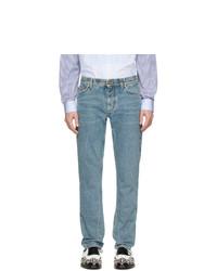 Мужские голубые джинсы от Burberry