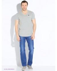 Мужские голубые джинсы от Dairos