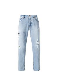 Мужские голубые джинсы от Dondup