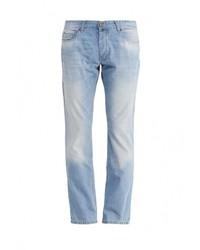 Мужские голубые джинсы от F5