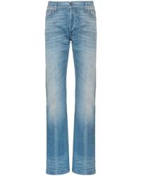 Мужские голубые джинсы от Gucci