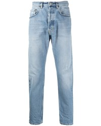 Мужские голубые джинсы от Haikure