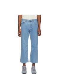 Мужские голубые джинсы от Maison Margiela