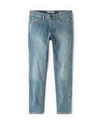 Мужские голубые джинсы от Mango Man