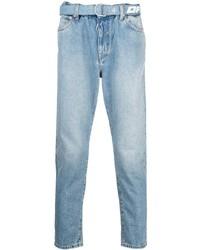 Мужские голубые джинсы от Off-White