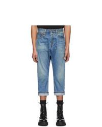 Мужские голубые джинсы от R13
