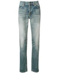 Мужские голубые джинсы от Saint Laurent