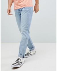 Мужские голубые джинсы от Weekday
