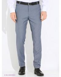 Мужские голубые классические брюки от Donatto