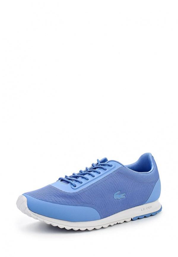 bcbd53fe Женские голубые кроссовки от Lacoste, 10 990 руб. | Lamoda | Лукастик
