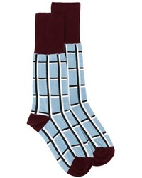 Мужские голубые носки с принтом от Marni