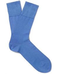 Мужские голубые носки от Falke