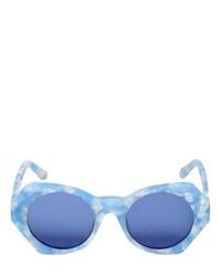 Голубые солнцезащитные очки