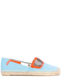 Женские голубые солнцезащитные очки от Tory Burch