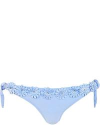 Голубые трусики бикини